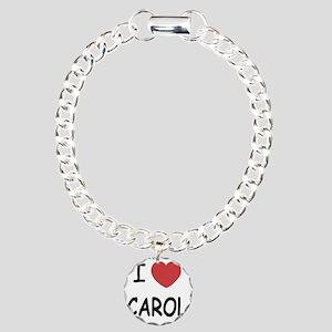 CAROL Charm Bracelet, One Charm
