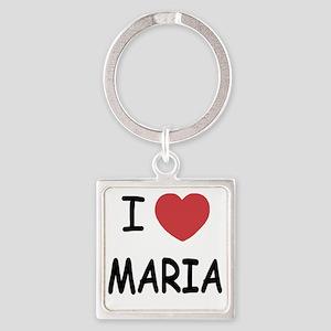 MARIA Square Keychain