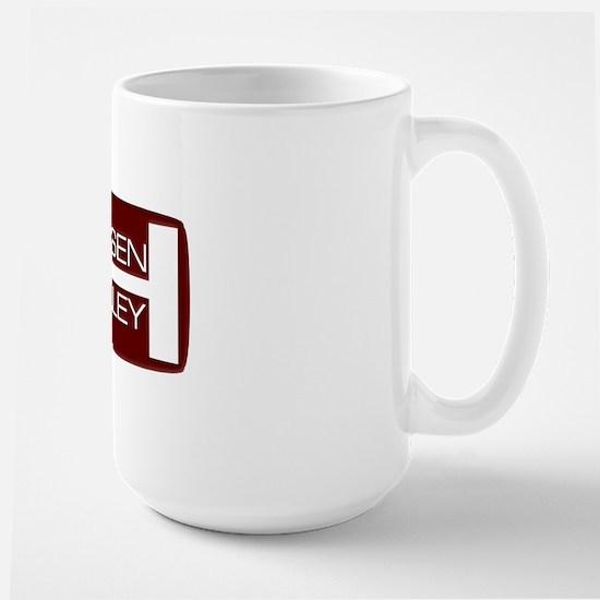 jensen-healey-badge Large Mug