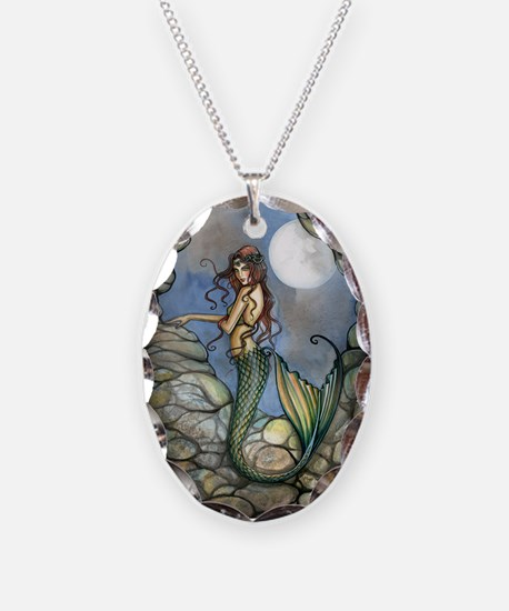 hidden cavern journal cafe pre Necklace Oval Charm