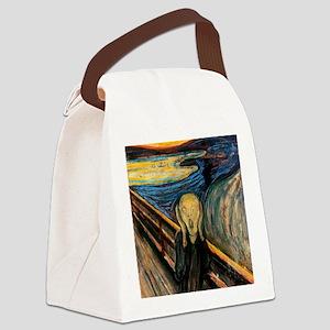 scream Canvas Lunch Bag