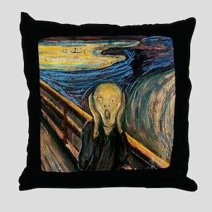 screampuzzle Throw Pillow