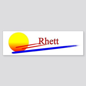 Rhett Bumper Sticker