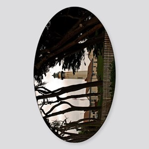 (9) Pigeon Point Fence Sticker (Oval)