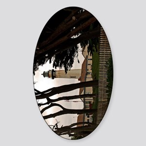 (13p) Pigeon Point Fence Sticker (Oval)
