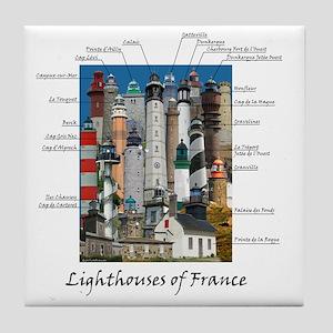 France Design 10x10 Tile Coaster