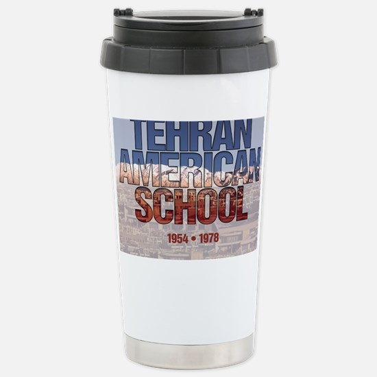 TASMtnDesignPuzzle Stainless Steel Travel Mug