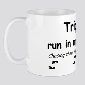 triplet run Mug