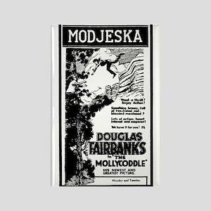Douglas Fairbanks Rectangle Magnet