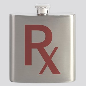 Red Rx Flask