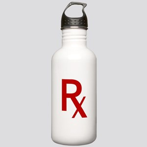 Red Rx Water Bottle