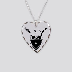 MursenariesWhiteforCP Necklace Heart Charm