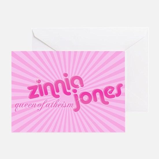 Zinnia-Jones-logo-mousepad Greeting Card