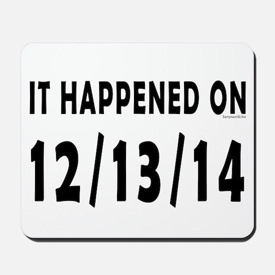 12/13/14 Mousepad