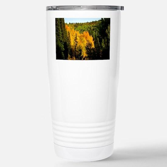 Pine tree Aspen canyon Stainless Steel Travel Mug