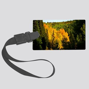 Pine tree Aspen canyon Large Luggage Tag