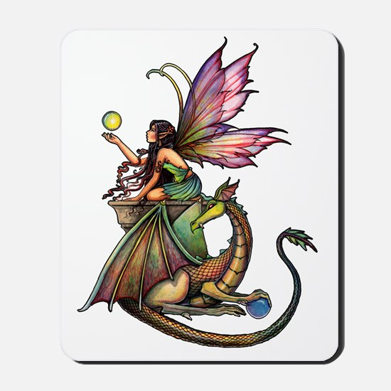 Dragons Orbs transparent background for  Mousepad