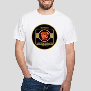 Pennsylvania Railroad, Broadway l White T-Shirt