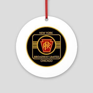 Pennsylvania Railroad, Broadway lim Round Ornament