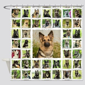 blanket-wildeshots_tillie(white) Shower Curtain
