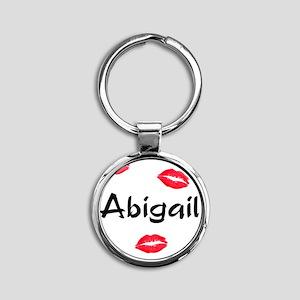 abigail Round Keychain
