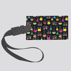 science_lab_toiletry Large Luggage Tag