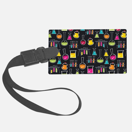 science_lab_toiletry Luggage Tag