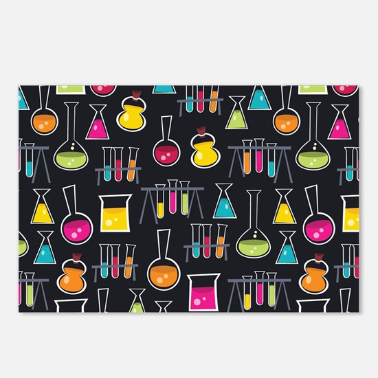 science_lab_toiletry Postcards (Package of 8)
