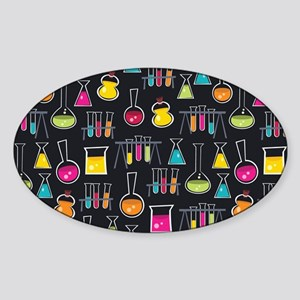 science_lab_toiletry Sticker (Oval)