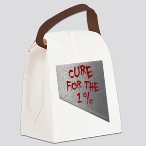 Cure for the one percent Canvas Lunch Bag