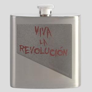 Viva la Revolucion Guillotine Flask