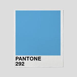 pantone292 Throw Blanket