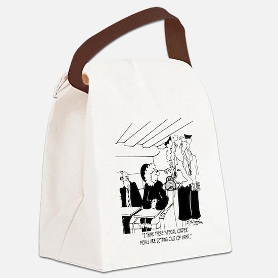 3425_eskimo_cartoon_BH Canvas Lunch Bag