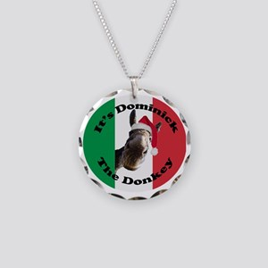 Its Dominick! (round) Necklace Circle Charm