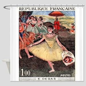 1970 France Degas Dancer Painting Postage Stamp Sh