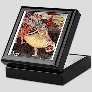 1970 France Degas Dancer Painting Postage Stamp Ke