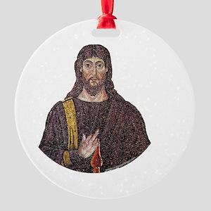jesus-light Round Ornament