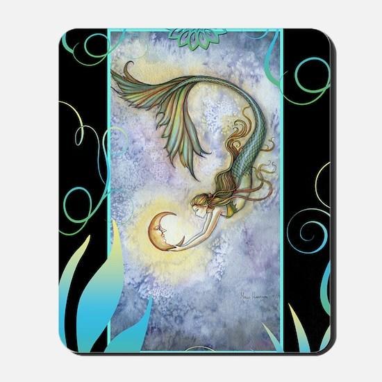 deep sea moon journal Mousepad