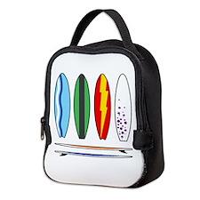 Surfboards Neoprene Lunch Bag