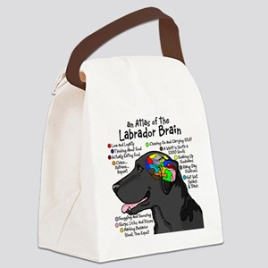 blklabbrain Canvas Lunch Bag