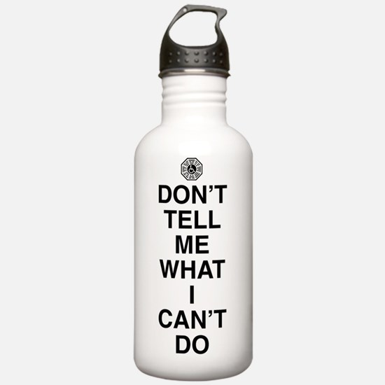 dont-tell-me-light Water Bottle