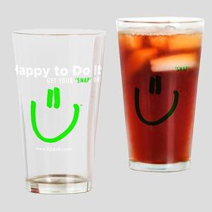 H2DoIt-square-white Drinking Glass