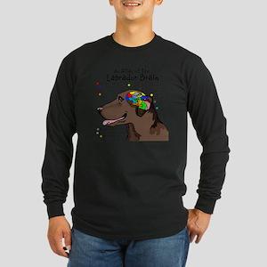 choclabbrain1a Long Sleeve Dark T-Shirt