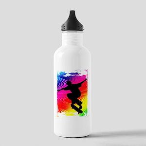 Skateboarding on Rainb Stainless Water Bottle 1.0L