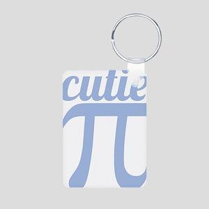 Cutie Pi Aluminum Photo Keychain