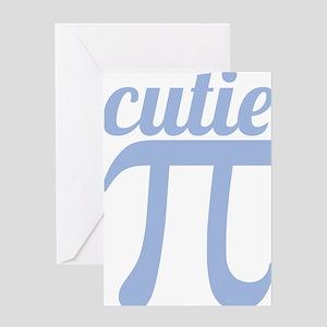 Cutie Pi Greeting Card
