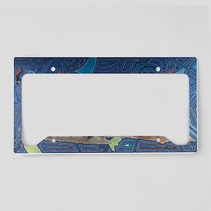 Dream Weave License Plate Holder