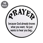 Prayer: He Just Wants To Hear You Beg 3.5