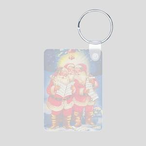 greeting_cards_4.5x6.5_ins Aluminum Photo Keychain