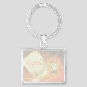 greeting_cards_4.5x6.5_inside_0 Landscape Keychain
